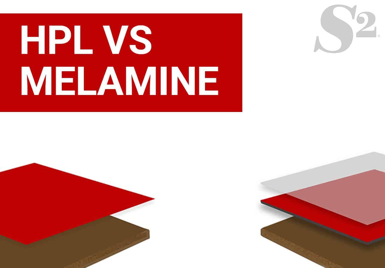 High Pressure Laminate Vs  Melamine | Surface Squared